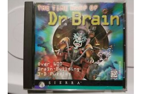 THE TIME WARP OF DR BRAIN PC GAME! 600 3-D PUZZLES! [1996 ...