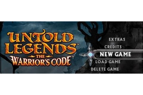 Untold Legends The Warriors Code PSP ISO - Download Game ...
