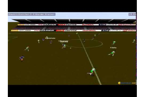 Kick Off 97 gameplay (PC Game, 1997) - YouTube