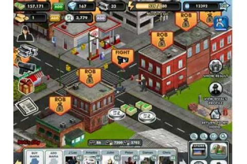 Crime City - Experience Boots (Facebook Game) - YouTube