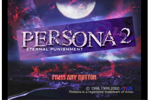 Persona 2: Eternal Punishment (PSX) Game - Playstation Video Game Room