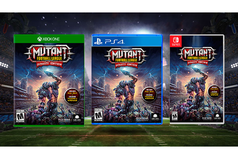 Mutant Football League: Dynasty Edition coming to PS4 ...