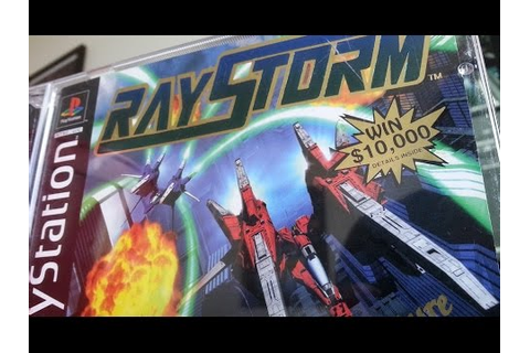 Classic Game Room - RAYSTORM review for PlayStation - YouTube