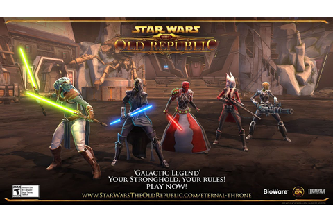 Star Wars: The Old Republic – 'Galactic Legend' Launch ...