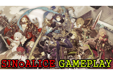シノアリス SINoALICE Gameplay Little Red Riding Hood & Snow ...