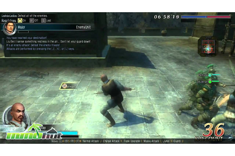 Dynasty Warriors Online Gameplay - First Look HD - YouTube