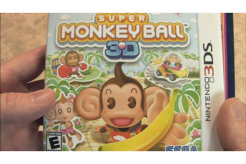 Classic Game Room - SUPER MONKEY BALL 3D vs. SPACE ARMADA ...