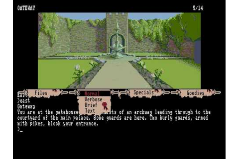 The Pawn Amiga version (early adventure game by Magnetic ...