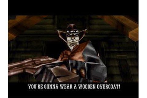 Gunfighter: The legend of Jesse James (USA) PSX ISO ...