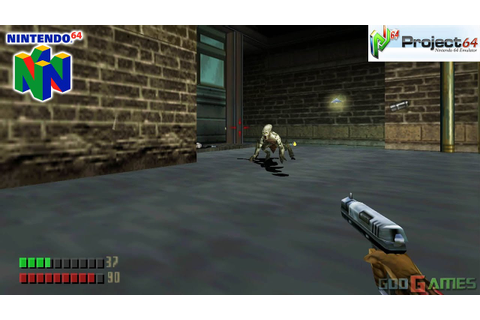 Turok 3: Shadow of Oblivion - Gameplay Nintendo 64 1080p ...