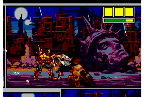 Comix Zone (USA) ROM