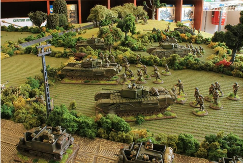 "[TMP] ""Battlegroup Overlord Demo at the Hobbyden - Pics ..."