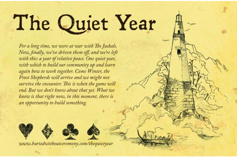 Tabletop Storygames: The Quiet Year | Emily Short's ...