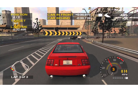 Project gotham racing 2- Xbox on Xbox 360 in HD - YouTube