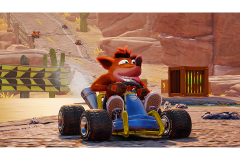 First Crash Team Racing Nitro-Fueled Switch images ...