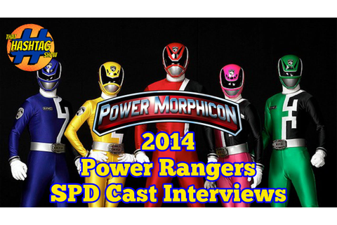 Power Rangers SPD Cast Interview at Power Morphicon 2014 ...