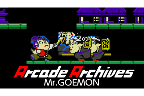 Arcade Archives Mr.GOEMON - YouTube