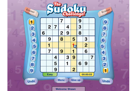 Sudoku Challenge > iPad, iPhone, Android, Mac & PC Game ...