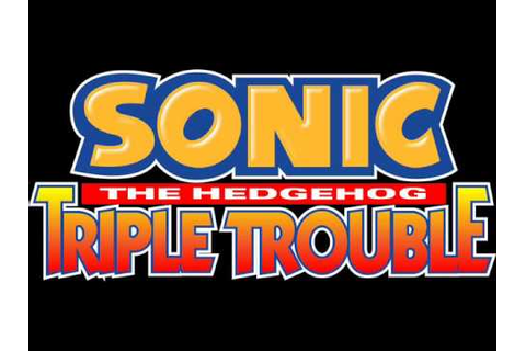 Sonic the Hedgehog: Triple Trouble (Game Gear) - Dr ...