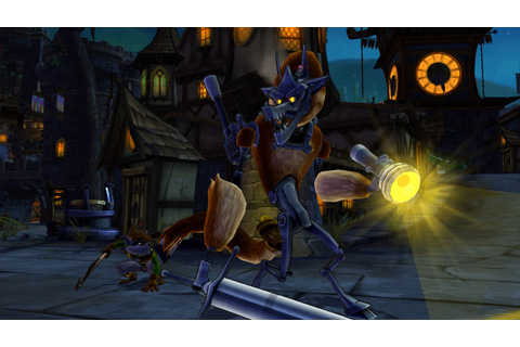 The Games of Chance: REVIEW - Sly Cooper : Thieves in Time.