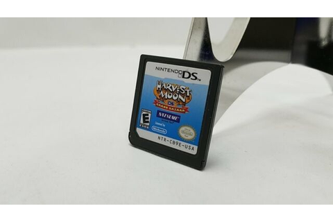 Harvest Moon DS: Grand Bazaar (Nintendo DS, 2010) * Game ...