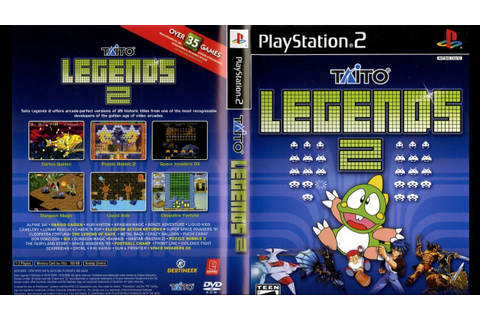 Taito Legends 2 ... (PS2) - YouTube