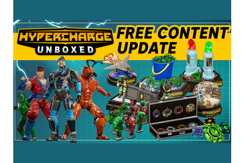 Hypercharge: Unboxed: Nintendo Switch - Major Update #1 ...