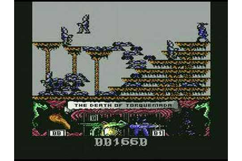 c64 longplay - Nemesis the Warlock part 1 of 8 (1-5) - YouTube