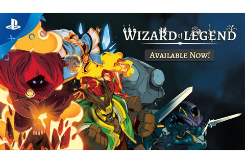 Wizard of Legend - Launch Trailer | PS4 - YouTube