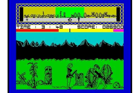Legend of the Amazon Women Walkthrough, ZX Spectrum - YouTube