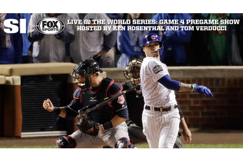 World Series: Game 4 pregame show from Chicago | SI.com