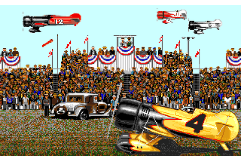 Dazeland : Jeux Amiga : Gee Bee Air Rally