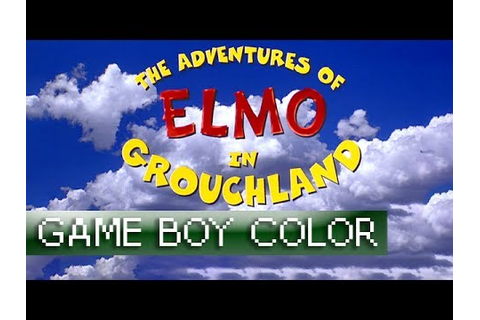[Longplay] The Adventures of Elmo in Grouchland - Game Boy ...