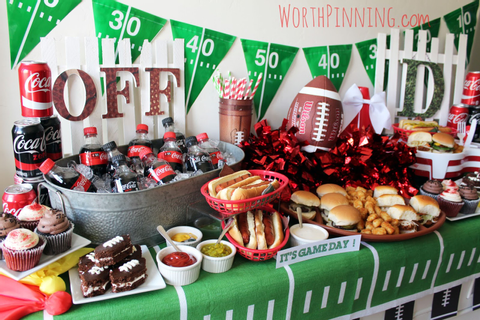 Worth Pinning: Football Game Day Watch Party