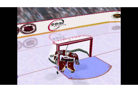 NHL FaceOff 99 ... (PS1) - YouTube