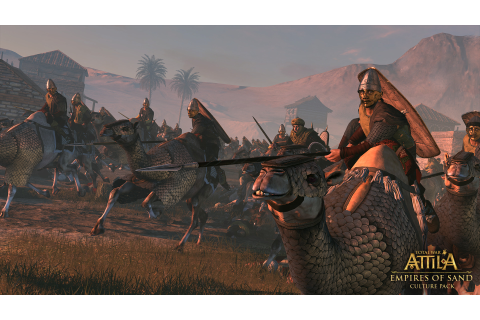 Empires of Sand Culture Pack out next week for Total War ...
