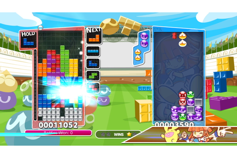 Puyo Puyo Tetris releasing in April in Europe and North ...