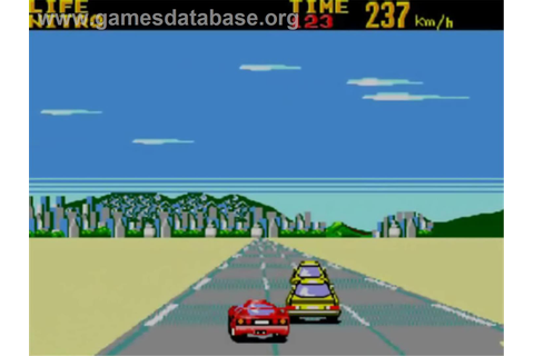 Battle Out Run - Sega Master System - Games Database