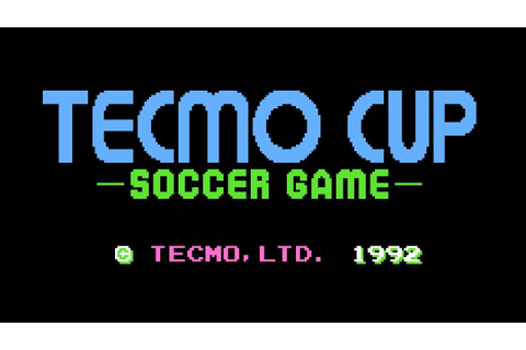 Tecmo Cup Soccer Game - NES Gameplay - YouTube