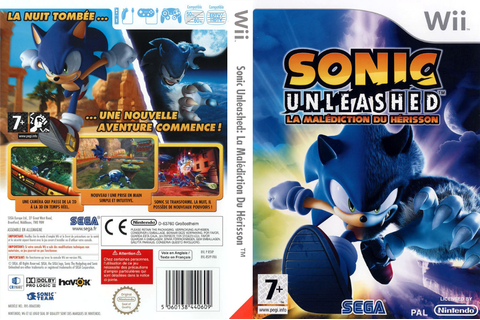 RSVP8P - Sonic Unleashed