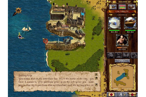 Corsairs (1999) - PC Review and Full Download | Old PC Gaming