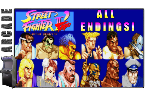 Street Fighter 2' Turbo Hyper Fighting | All Endings ...