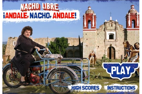 Nacho Libre Andale Nacho Andale Game - Movie & TV games ...