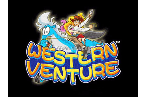 Westerse Venture Game board-muntautomaten games-product-ID ...