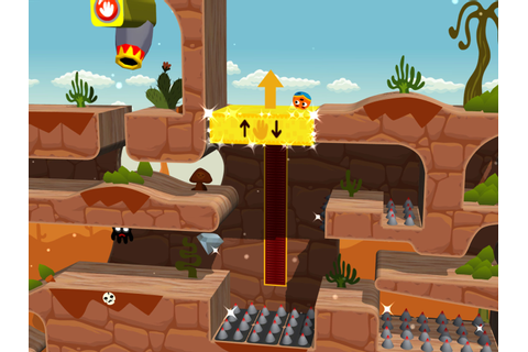 Platform puzzler Rolando, one of the first iPhone games ...