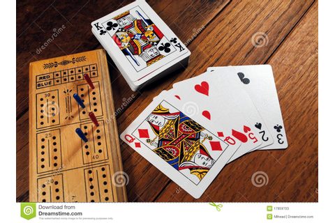Cribbage Game stock image. Image of hand, pegs, games ...