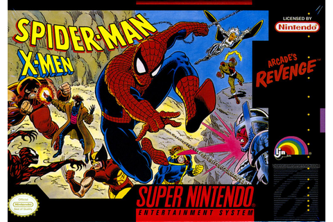 Spider-Man and the X-Men in Arcade's Revenge (1992) | My ...
