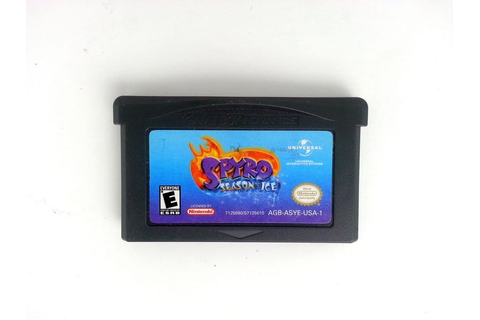 Spyro Season of Ice game for GameBoy Advance (Loose) | The ...