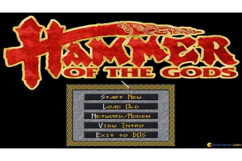 Hammer of the Gods gameplay (PC Game, 1994) - YouTube