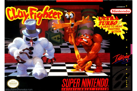 Nerdicus SNES Review #62 + 63 + 64: Clayfighter ...
